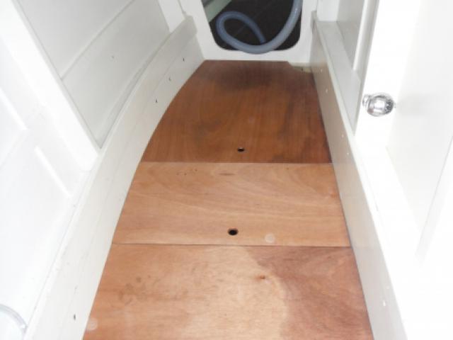 Allez Cat - new engine floor boards