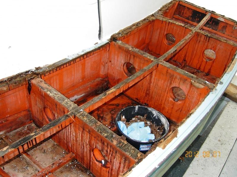 Boarding platform was rotten