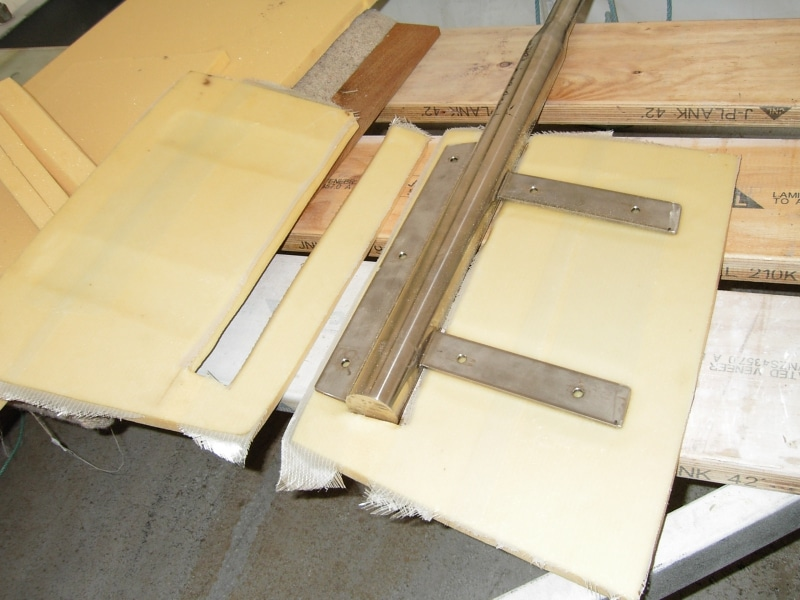 Building rudders