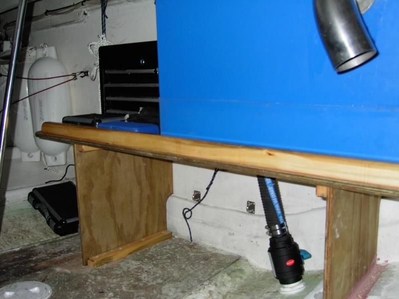 Holding tank installation (2)