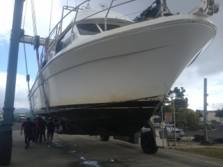 Joint Venture hull before
