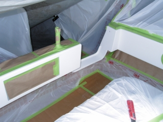 Masking for paint repairs