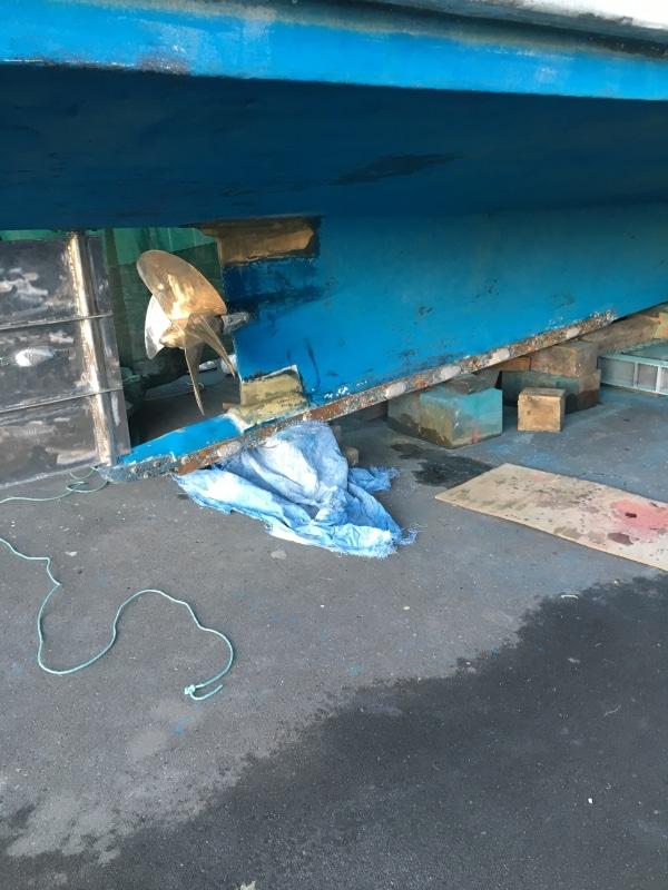 Pearler keel repair