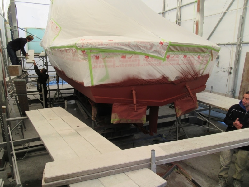 Scorpion antifouled