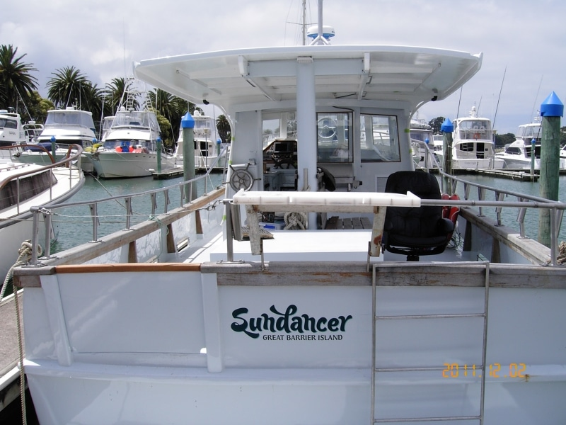 Sundancer refit finished in berth