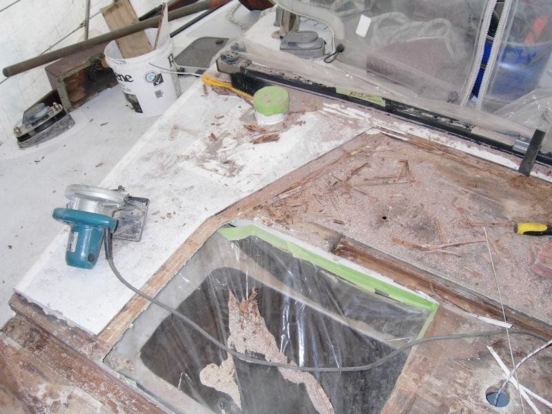 repairing rot